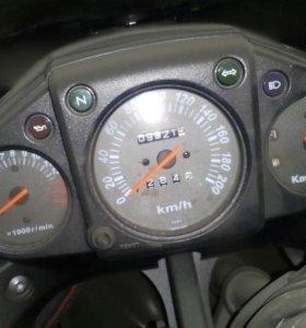 Мотоцикл кава 250 ниндзя