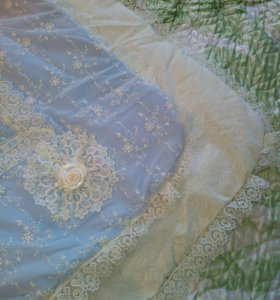 Одеяло конверт зимний на выписку из роддома