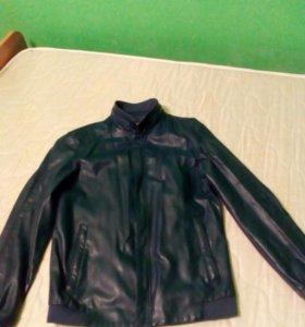 Подростковая кожаная куртка