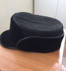 Новая зимняя мужская шапка с мехом