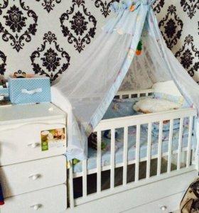 Кроватка детская 89883894522