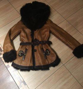 Дубленка куртка натуральная