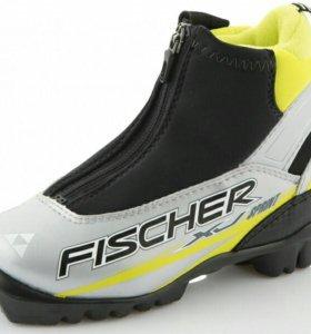Лыжние детские ботинки Fisher EU 33 размер