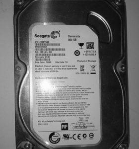 "Жёсткий диск 500 gb sata 3,5"""