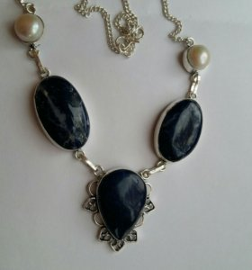 Ожерелье серебро 925