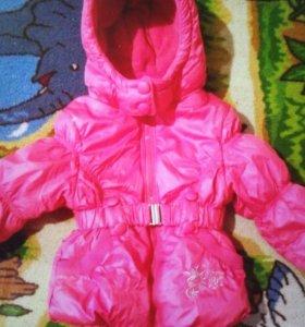 Теплая куртка холодная весна, осень/зима
