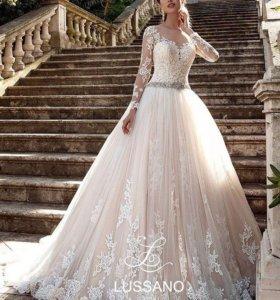 Новое свадебное платье Lussano Bridal(Италия)