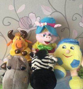 Мягкие игрушки большие