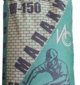 Сухая смесь М150 Малахит (штукатурная), 50кг