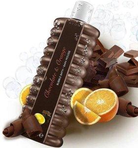 """🍫Пена для ванн """"Шоколад и апельсин""""🍊"""