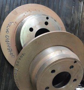 Новые тормозные диски зад., Volvo 850, S70 93-96 г
