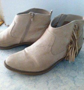 Ботинки деми 42 размер