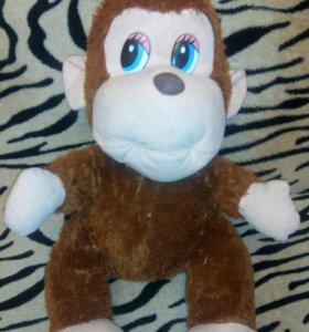 Мягкая игрушка большая обезьянка