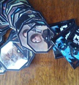 Космо-жетоны Звездные войны коллекция