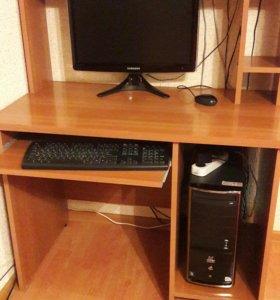 Компьютер(монитор,системный блок,клавиатура,мышка)