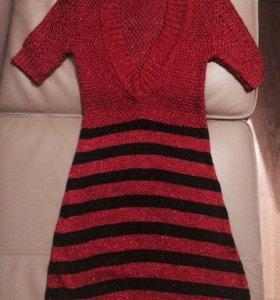 Платье новое! 42 размер крупная вязка