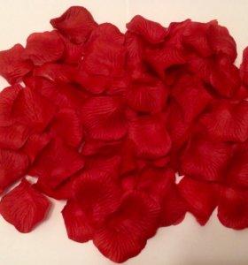 Лепестки роз (шёлк)