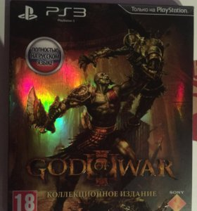 God of war 3 коллекционный ps3