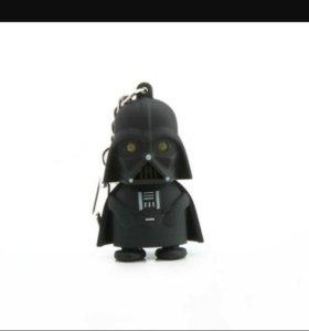 Светящиеся игрушечный брелок Дарт Вейдер со звуком