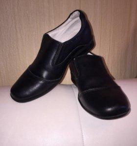 Кожаные туфли р.29