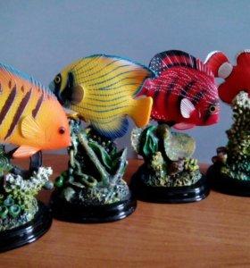 Сувенирная коллекция морских рыб