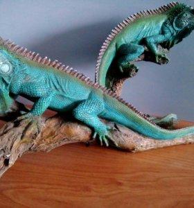 Сувенирная коллекция рептилии