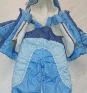Конверт трансформер, полукомбенизон + куртка