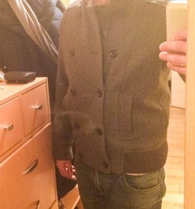 Пальто-куртка шерсть весенняя
