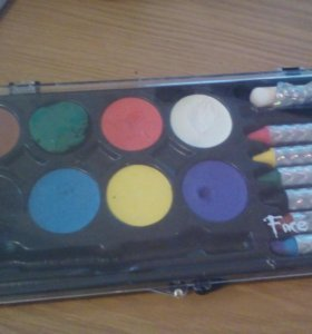 Краски для грима