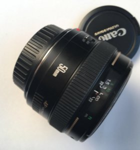 Объектив Canon EF 50mm 1.4