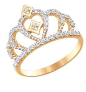 Золотое кольцо SOKOLOV