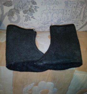 Носки для резиновых сапог.