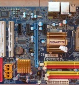 Материнская плата Gigabyte GA-945PL-DS3