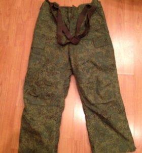 Теплые военные штаны, новые