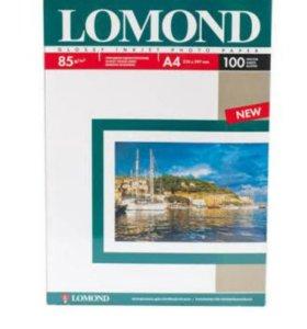 Фотобумага LOMOND глянец A4 100 листов