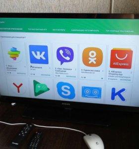 Android Флешка Smart делает из телевизора Андроид