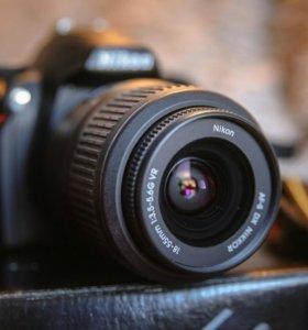Никон д3000 Nikon d3000 kit 18-55