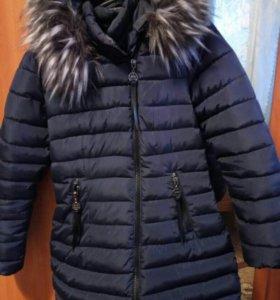 Новая ,теплая куртка только сегодня отдам за 4000