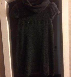 Платье 👗 тёплое, вязаное