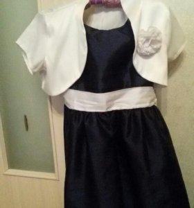 Платье для выпускного девочки с болеро