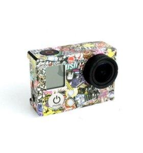 Наклейка на камеру gopro
