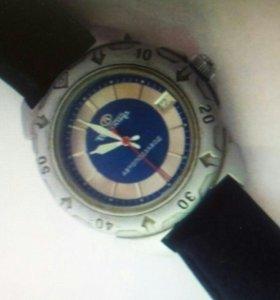 Часы мужские.  Восток Тройка.