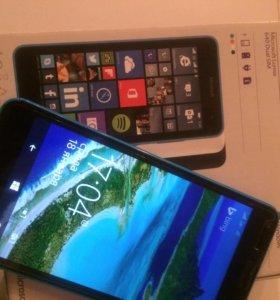 Microsoft Lumia 640 3G Dual SIM Cyan