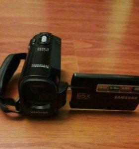 Цифровая видеокамера samsung SMX-F40BP/XER