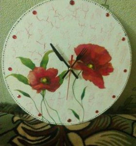Часы на кухню))