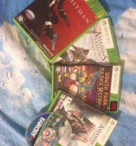 Xbox 360 (450gb) + Kinect + геймпад
