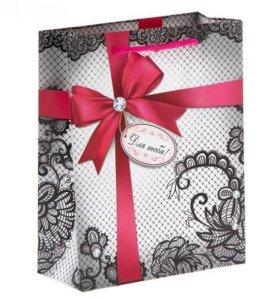"""Пакет подарочный """"Для тебя"""""""