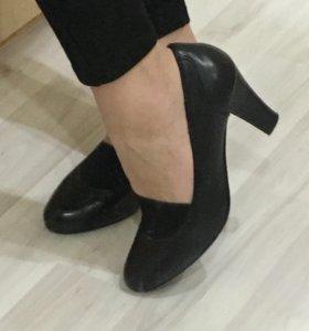 Туфли натуральная кожа 38 размер