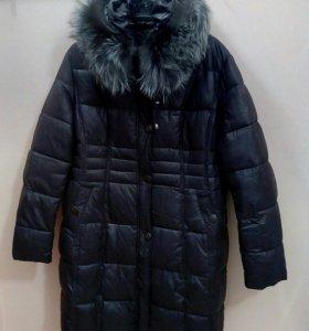 Зимняя синтепоновая женская куртка