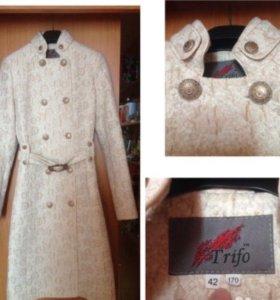 Пальто, лёгкое, новое